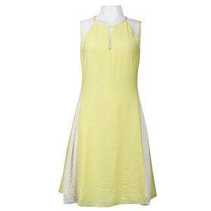 Walter Baker Yellow Summer Dress (W7889)